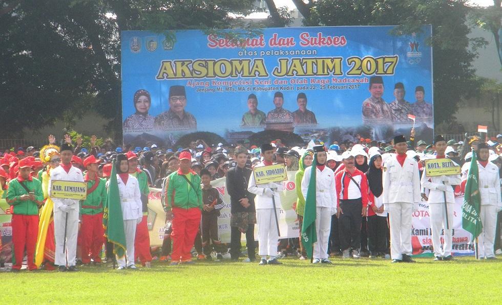 Pembukaan Aksioma di Pare Kediri Th 2017